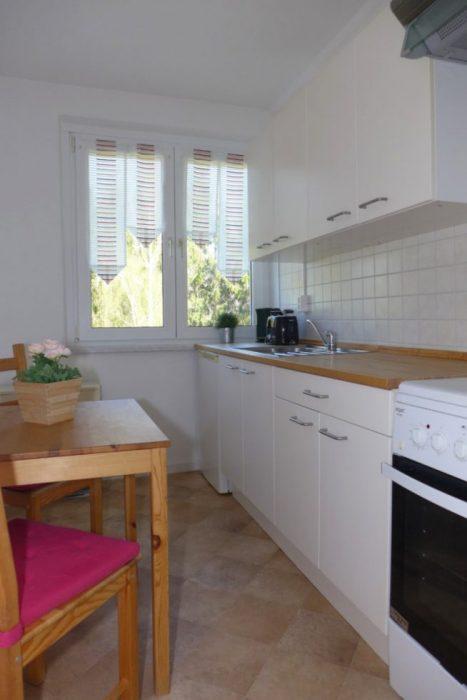 Küche - Gästewohnung am Hohen Hain